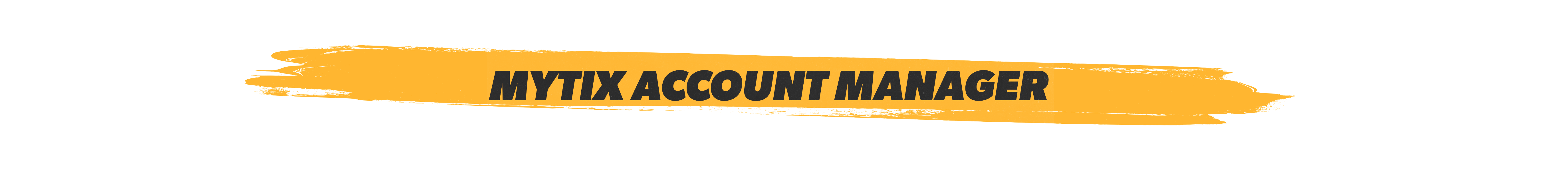 mytixaccount manager (web square)