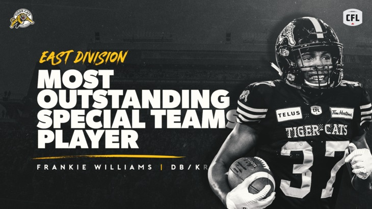 CFL Award Nominees - Frankie Williams