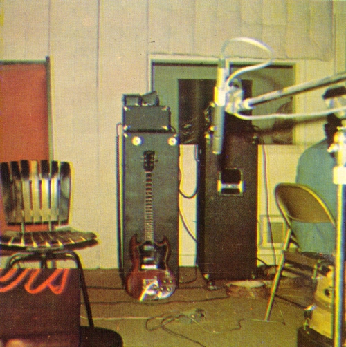 the studio, 1976