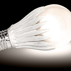 LED lighting uses up to 85% less energy