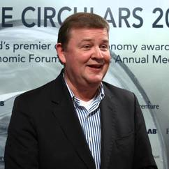Feike Sijbesma, CEO, Royal DSM one of the winners of The Fortune Award for Circular Economy Leadership