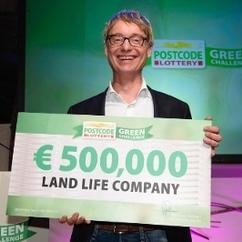 Postcode Lottery Green Challenge 2015 Winner, Land Life Company