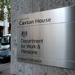 department of work and pensions entrance
