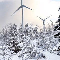Winter Wind Power