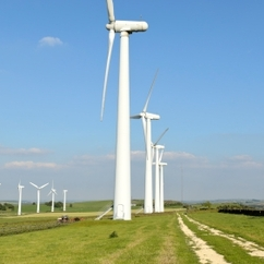 The government has approved Ecotricity's 22 turbine project - which could cost up to £100m to construct.