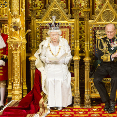 The Queen's Speech opened a new session of parliament (photo: flickr.com,  uk_parliament, parliamentary copyright images are reproduced with the permission of parliament).