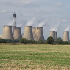 The giant coal-fired power station in Yorkshire is currently the UK's largest single emitter of carbon dioxide, while providing about seven to eight per cent of the country's total power.