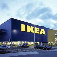 Ikea has installed 550,000 solar panels and committed to own 137 wind turbines across its operations.