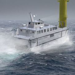 The Marine Accident Investigation branch has recorded an increase in accidents involving wind farm service vessels.