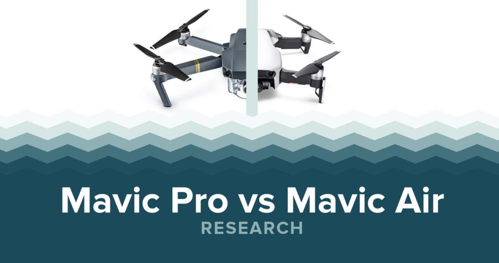 DJI Mavic Pro Vs Mavic Air Specs & Price Banner Image