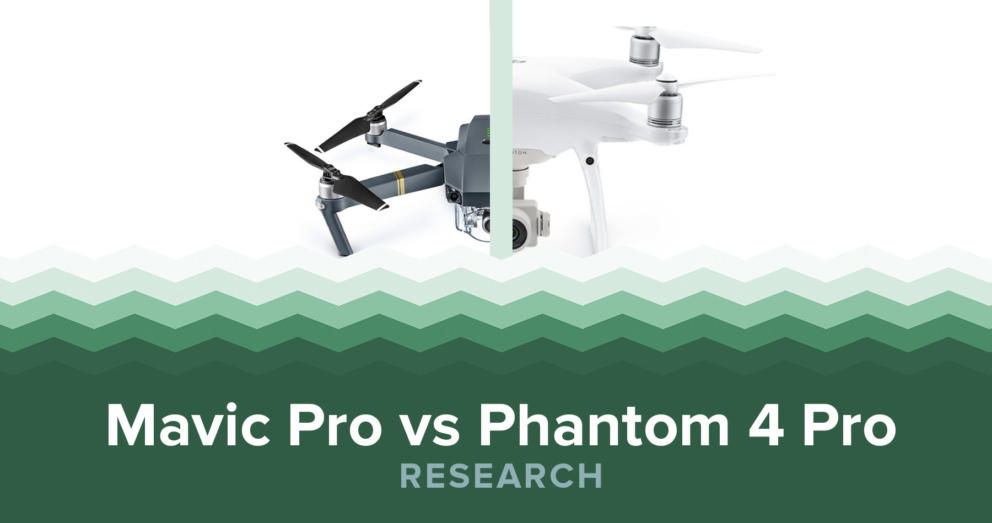 DJI Mavic Pro Vs Phantom 4 Pro Banner Image