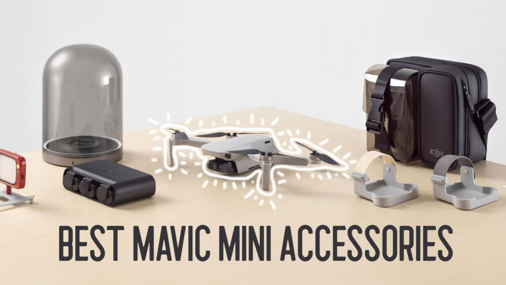Top 12 Best Mavic Mini Accessories Banner Image