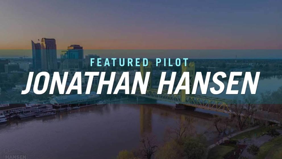 April's Featured Pilot: Jonathan Hansen! Banner Image
