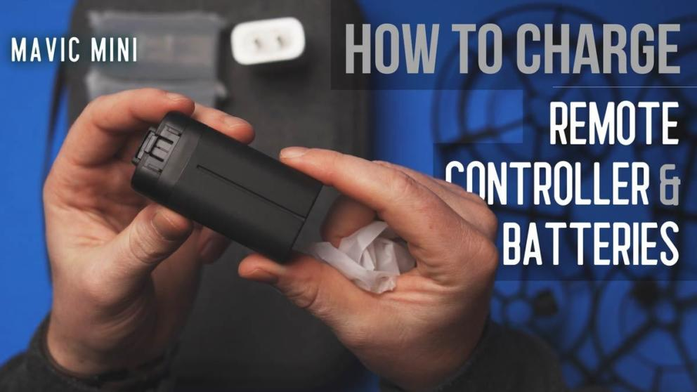 How to Charge Mavic Mini Remote Controller and Batteries Banner Image
