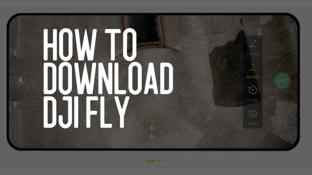 How To Download DJI Fly App for Mavic Mini Banner Image
