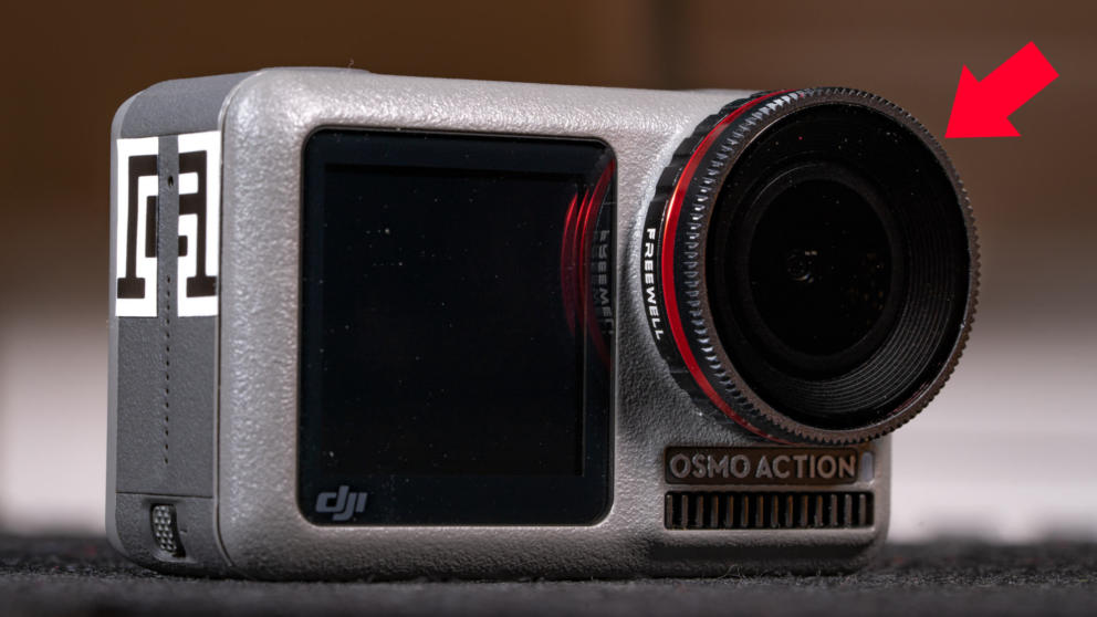 Osmo Action: How to Remove Front Filter & Use ND Filter Banner Image