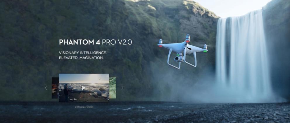Phantom 4 Pro Vs Phantom 4 Pro V2.0 Banner Image