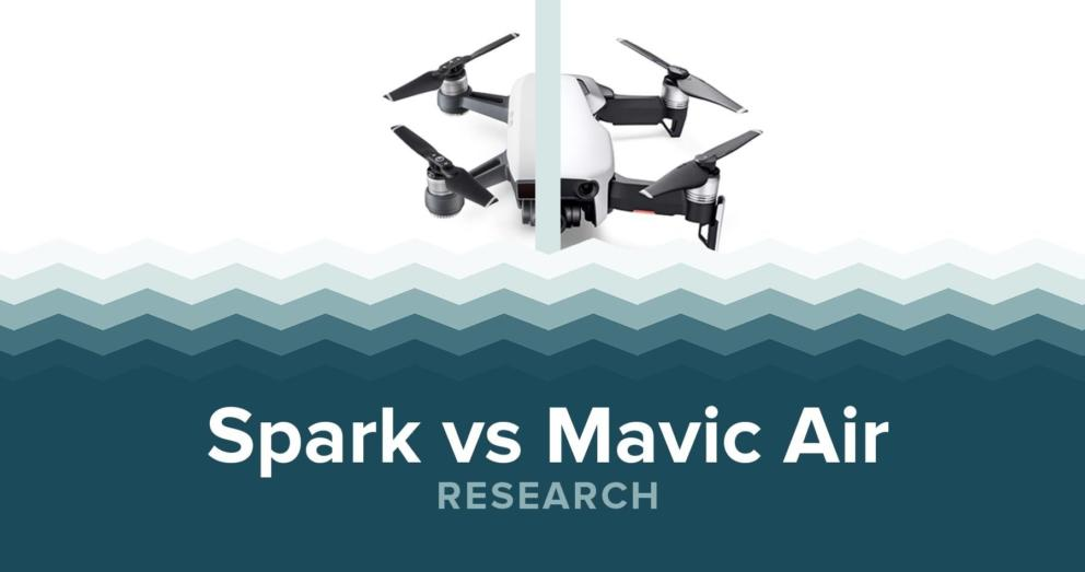 DJI Spark vs Mavic Air - Specs & Price Banner Image