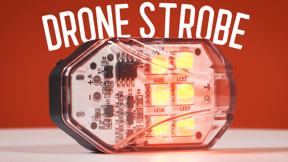 Ulanzi Drone Strobe Light Review | Fly A Drone at Night Safely! Banner Image