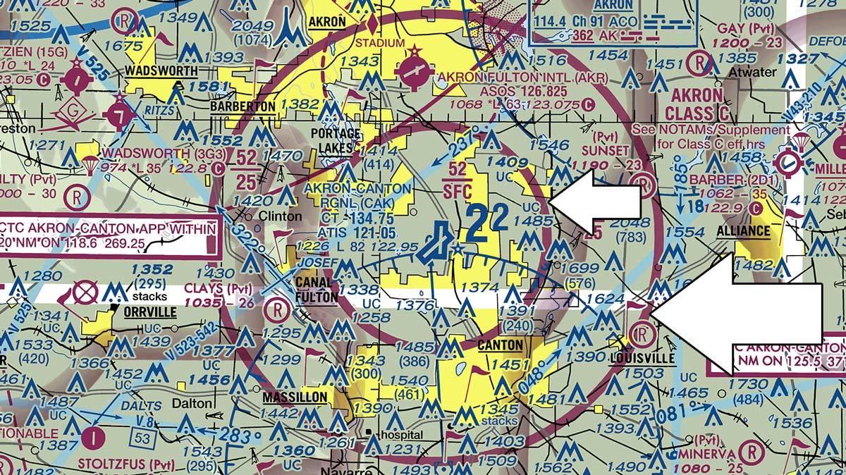 magenta line map