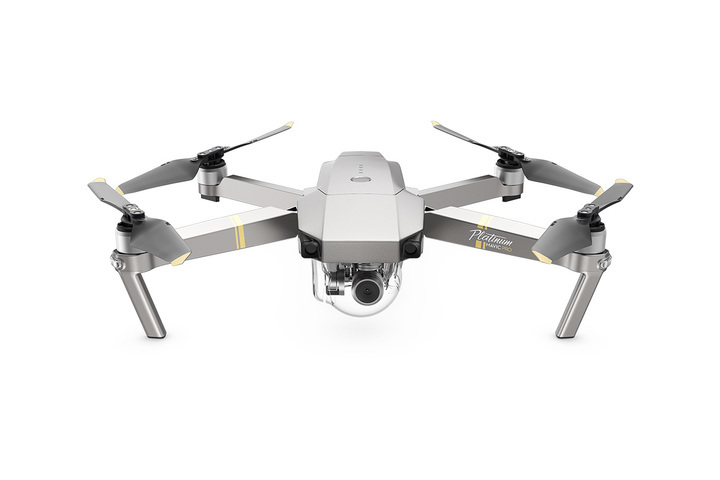 Mavic Pro Platinum Unfolded Front