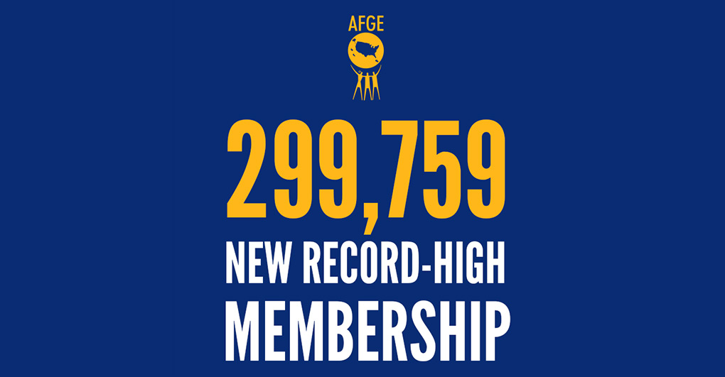 New membership high