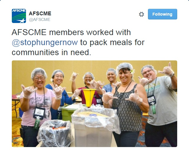 @AFSCME Twitter screenshot