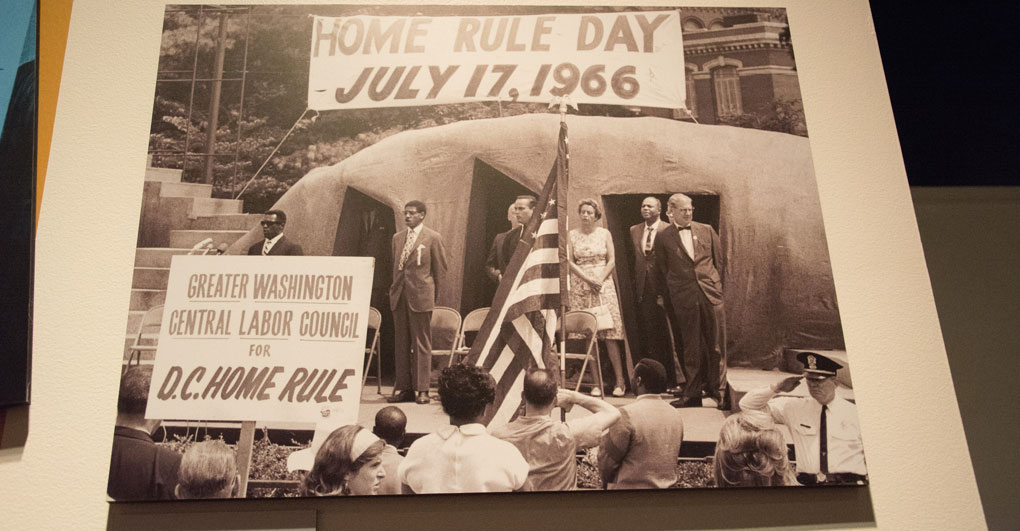 Photo from D.C. Home Rule Day in 1966