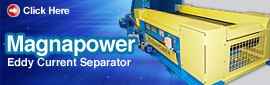 Magnapower Eddy Current Separator