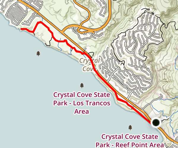 crystal cove state park trail map with Reef Point Crystal Cove State Park To Aliso Beach County Park on San Diego County Coast Map furthermore 10 Noi Cam Trai Ly Tuong Nhat furthermore Pismo beach c ing furthermore Hiking together with Mapleleaf gif.