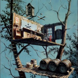 Contemporary art by Treehouse, The Collection Of Paintings By Dan Fuller