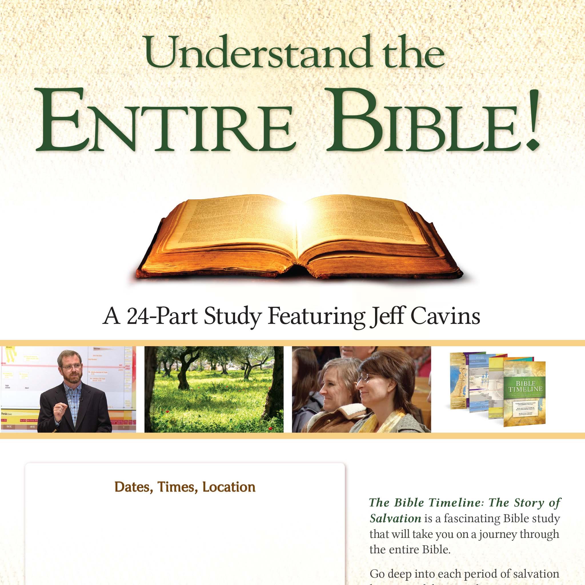 The Bible Timeline Study Program – Ascension