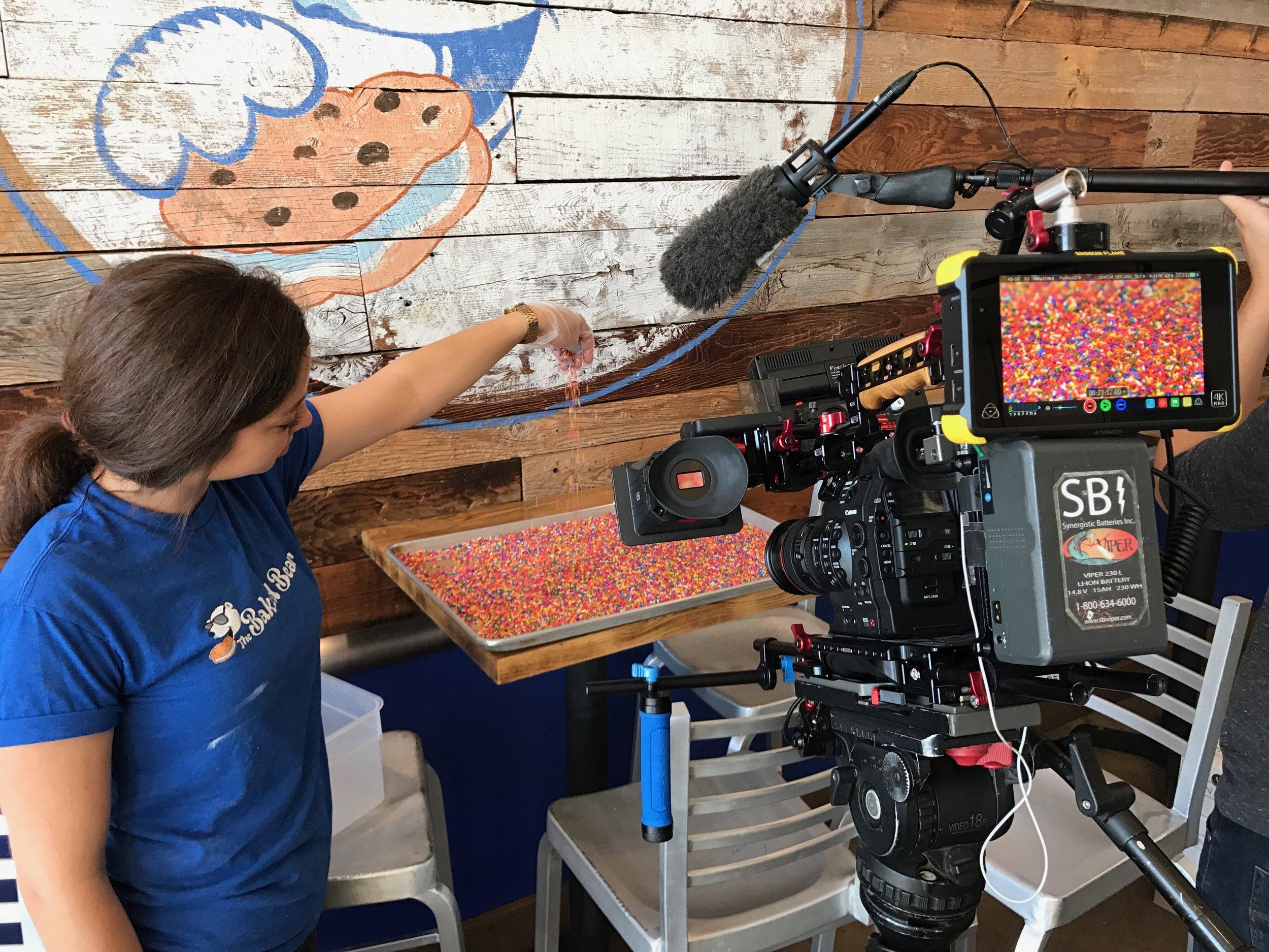 Cameraman-Video-Sprinkles