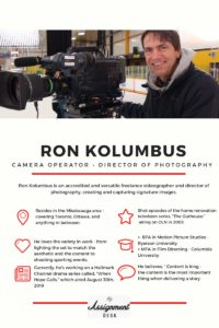 Friday Feature | Ron Kolumbus