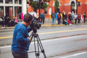 Social Distancing While Filming