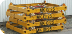 MK-10 10' container lifting spreader