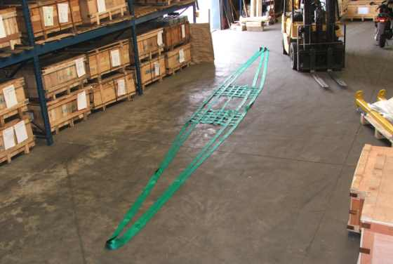 MK-73 VAN LIFTING GEAR WITH POLYESTER NET SWL 10t
