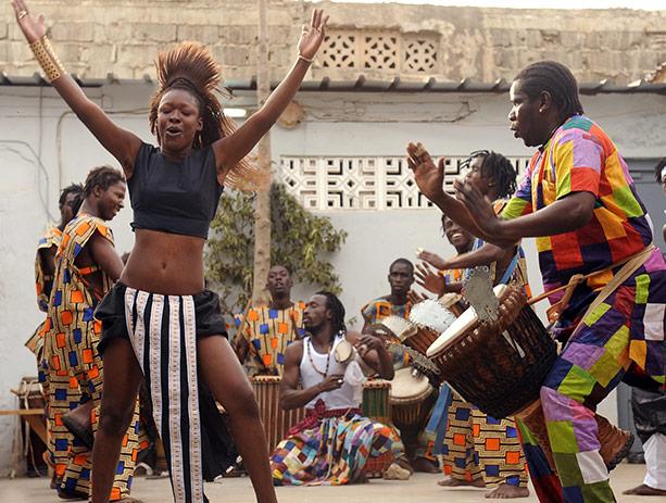Senegalese Dancer