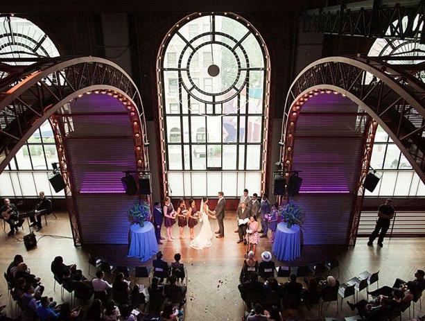 Weddings at BAM