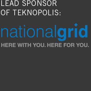 lead sponsor of teknopolis: national grid here with you. here for you.