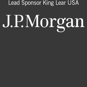 lead sponsor king lear USA J.P. morgan