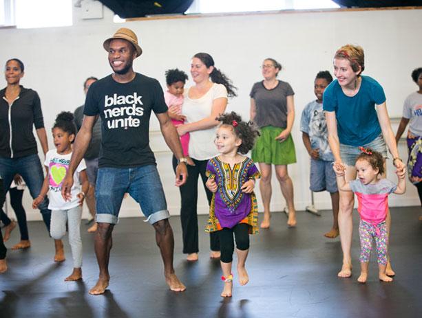 Dance Africa Family Workshop