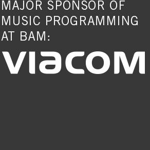 major sponsor of music programming at bam: viacom