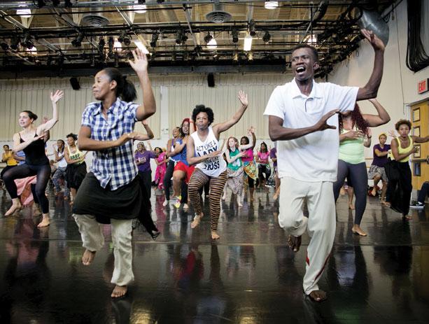 DanceAfrica Family Workshop