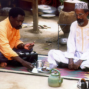 """Their own images of Africa"": The cinema of Mahamat-Saleh Haroun"
