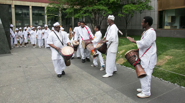 DanceAfrica at Weeksville Weekend