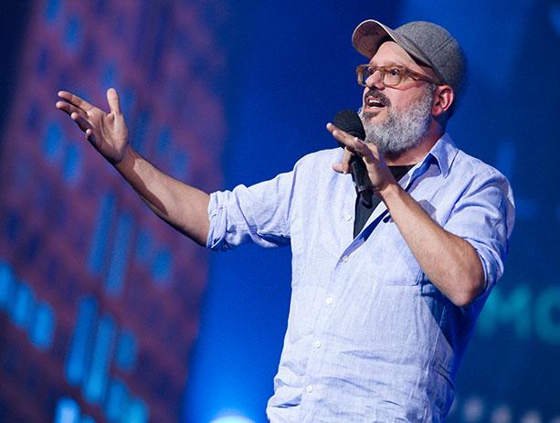 David cross NY Comedy Festival