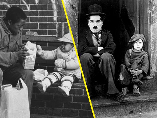 Sidewalk Stories + The Kid