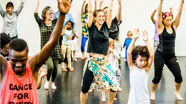 Danceafrica Family Class