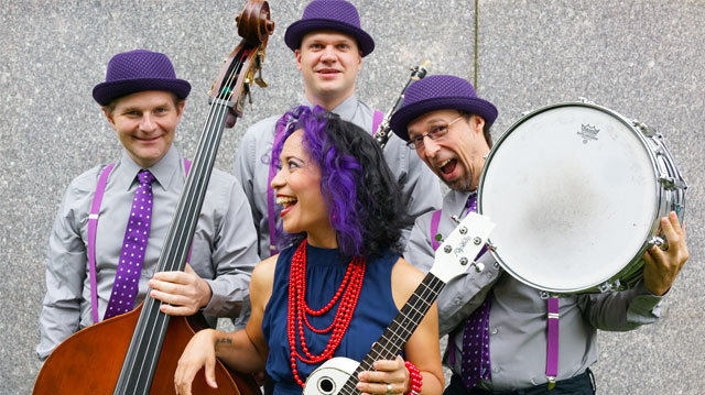 Lucy Kalantari & The Jazz Cats